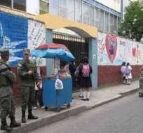 Rectores presentan plan para combatir droga en colegio fiscales