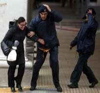 Levantan alerta máxima en Uruguay tras paso de ciclón