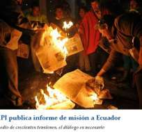 Ecuador vive una crisis de libertad de prensa, dice el IPI