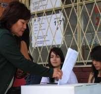 CNE aprueba registro electoral definitivo en 11'666.468 personas