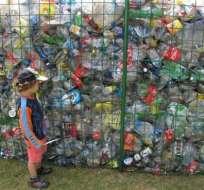 Así Ecuador consiguió el récord Guinness por reciclaje de botellas de plástico