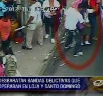 Arrestan a 24 personas y desarticulan bandas delictivas en Loja y Santo Domingo