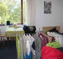 Secar la ropa dentro de la casa es un riesgo para la salud