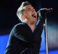 Robbie Williams vuelve 8 años después al número uno con 'Candy'
