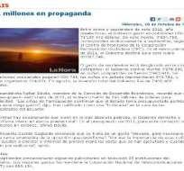 Gobierno plantea Acción de Protección contra el diario La Hora