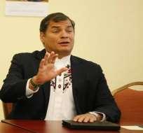 Rafael Correa dice que detenidos por caso Duzac son inocentes