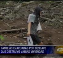 Deslave en Pastaza deja más de 30 damnificados