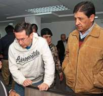 Rafael Correa visitó a exdirectivos de Cofiec en la cárcel