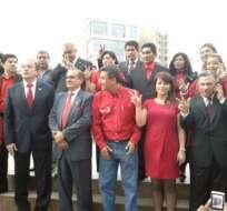 Sociedad Patriótica inscribió candidatos a asambleístas nacionales
