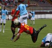 Deportivo Cuenca y Manta no se hicieron daño en el Alejandro Serrano Aguilar