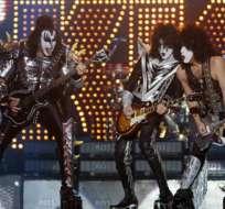 Unos inmortales 'Kiss' hicieron rockear a Chile