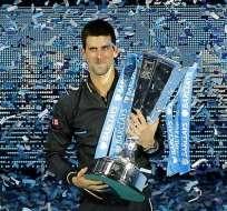 Djokovic se proclama campeón del Torneo de Maestro en Londres