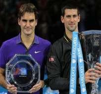 Djokovic y Federer mantienen su hegemonía en Londres
