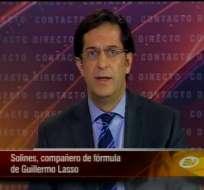 Juan Carlos Solines: Ecuador requiere una reforma política