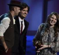 Jesse & Joy triunfan en los Grammy Latino; Juanes, mejor álbum