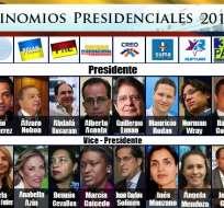 Ecuatorianos escogerán entre ocho propuestas presidenciales