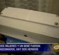 Dos mujeres y un bebé son víctimas de un triple crimen en El Empalme