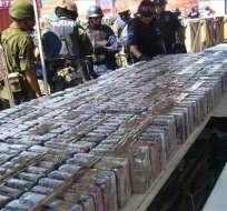 Policía: Carteles de droga operan en el país