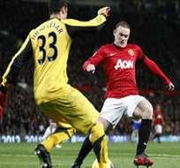 El Manchester United, líder provisional de la Liga Premier