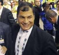 Rafael Correa asistirá a cumbre de la Unasur en Lima el viernes
