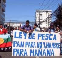 Universitaria muere en manifestación de pescadores y estudiantes en Chile