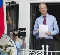 Assange evita hablar sobre Ecuador al considerarlo un país 'insignificante'