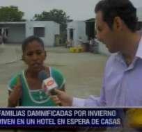 Damnificados en Portoviejo llevan ya diez meses en albergue