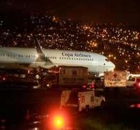 Incidente aéreo de Copa se investiga