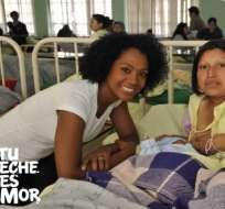 Karla Kanora impulsa campaña de Unicef 'Tu leche es amor'