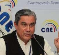 Domingo Paredes anunció que las cadenas serán suspendidas