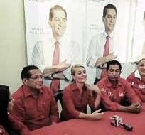 Guayaquil esta mañana fue el centro de campañas de los candidatos presidenciales