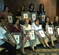 Revista Hogar premió a las mujeres más destacadas del año 2012
