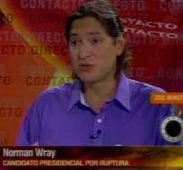 Wray: Hay que promover incentivos tributarios para generar más empleos