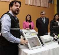 Ecuador recibió equipos tecnológicos que le prestó República Dominicana para sus elecciones