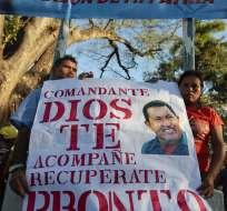 Chávez cumple un mes de convalecencia en completo silencio