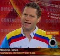 Mauricio Rodas promete un gobierno aliado al sector productivo