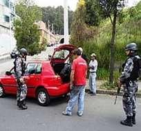 Policía Nacional intensifica los patrullajes en Guayaquil