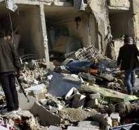 83 muertos deja ataque del régimen sirio contra una universidad