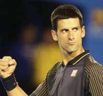 Djokovic sigue inalterable y Sharapova intratable