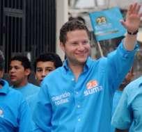Mauricio Rodas es optimista de que estará en la segunda vuelta