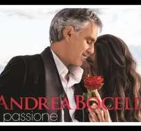 Andrea Bocelli lanza su nuevo disco 'Pasión' el 29 de enero