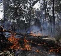 Los incendios en Australia se cobran la primera víctima mortal