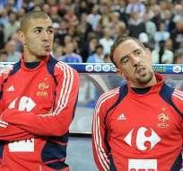 Benzema y Ribéry serán juzgados por prostitución de menores en junio