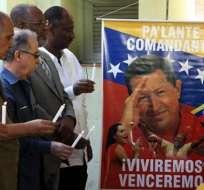 Cuba oficia nueva misa por salud de Chávez en Santuario Virgen de la Caridad