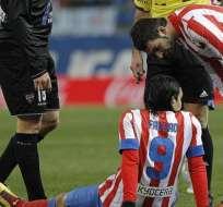 Simeone: 'Si Falcao tiene algo, le vendrá bien descansar'