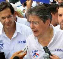 Guillermo Lasso presentó denuncia por video satírico en su contra