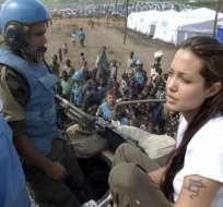 Angelina Jolie escribe diario sobre su labor humanitaria