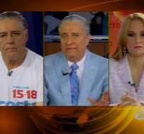 Debate entre Fernando Vega y Sylka Sánchez, candidatos a asambleístas