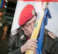 Chavistas se movilizan en Caracas para celebrar 55 años de democracia