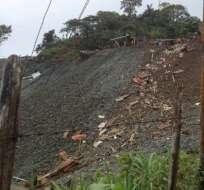 Sube a 12 el número de fallecidos por deslave en Ponce Enríquez